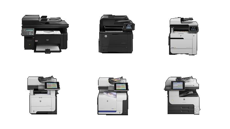 Photo of Laserjet Multi-Function Machines.